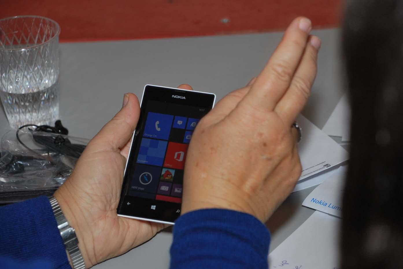 Smartphone-Klassen für Senioren